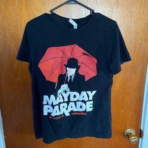 "Mayday Parade ""A Lesson in Romantics"" Band T-Shirt"